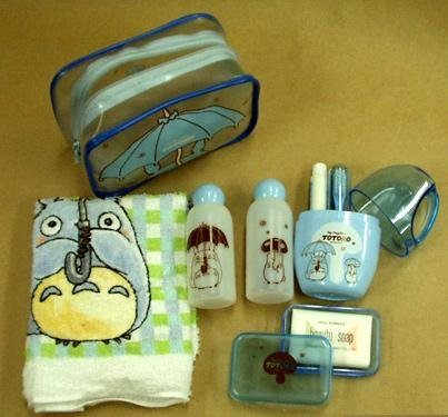 Ghibli - Totoro - Travel Case Set - 7 items - VERY RARE - SOLD OUT (new)