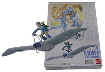 Plastic Model Kit - Scale1/20 - Nausicaa & Mowe Mehve - Ghibli - Bandai - made in Japan (new)