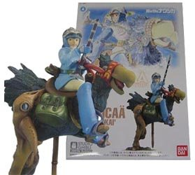 Plastic Model Kit - Scale 1/20 - Nausicaa & Kai - Ghibli - Bandai - made in Japan (new)