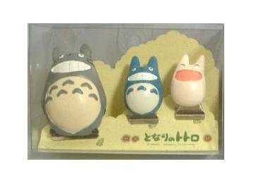 Ghibli - Totoro & Chu & Sho Totoro - 3 Clip Set #1 - VERY RARE - SOLD OUT (new)