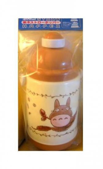 Ghibli - Totoro - Drinking Bottle with Straw - One Touch Button - VERY RARE - SOLD OUT (new)
