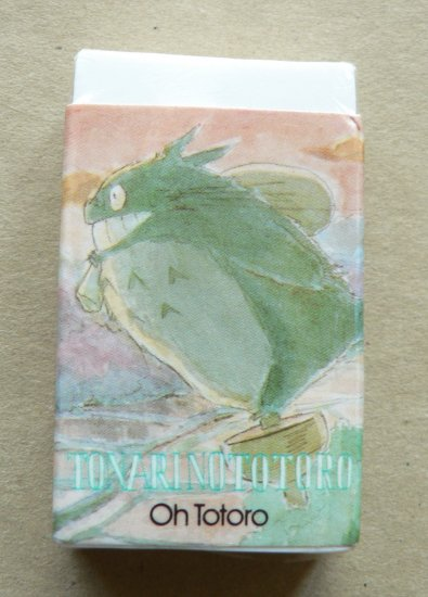 Ghibli - Totoro - Eraser - VERY RARE - only 1 left - SOLD OUT (NEW)