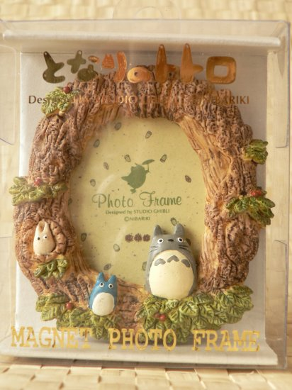 Ghibli - Totoro - Photo Frame - Stand with Magnet - RARE - SOLD OUT (NEW)