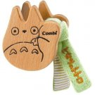 Baby Rattle - Beech Tree - wooden sound - handmade - Totoro - Ghibli - Combi - 2007 (new)