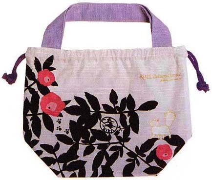 Kinchaku Bag - Jiji & Lily & Kids - Kiki's Delivery Service - 2007 - out of production (new)
