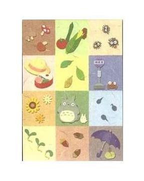 Ghibli - Totoro & Sho & Kurosuke - Notepad - 2007 (new)