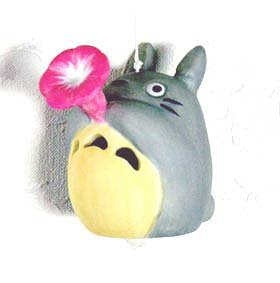 Ghibli - Totoro- Wind Chime - Ceramics - Morning Glory - Out of Prodution - RARE - SOLD OUT (new)