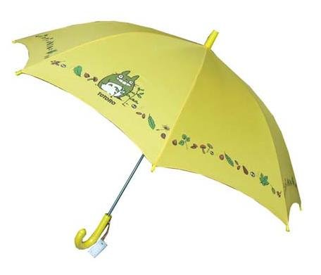Ghibli - Totoro & Kurosuke - Kid's Umbrella - yellow - 2006 (new)