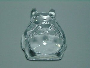 Paper Weight - Crystal - stand - Noritake - Totoro - Ghibli (new)