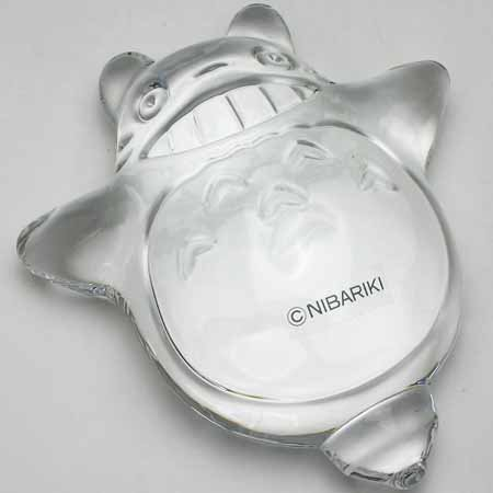 Paper Weight - Crystal - on top - Noritake - Totoro - Ghibli (new)