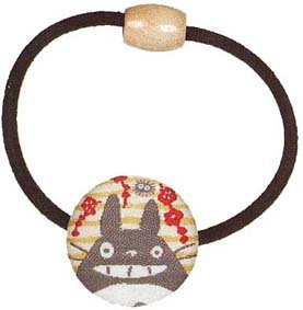 Ghibli - Totoro & Kurosuke - Hair Band - Ornament - weaved design - ume - 2007 - RARE (new)