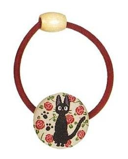 Ghibli - Kiki's Delivery Service - Jiji - Hair Band - Ornament -weaved design-rose-RARE-SOLD(new)