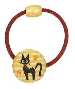 Ghibli - Kiki's Delivery Service - Jiji - Hair Band -Ornament-weaved design-stripe-RARE-SOLD(new)