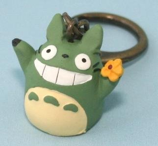 1 left - Key Holder - Flower - Totoro - Ghibli - no production (new)