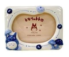 Ghibli - Totoro & Sho & Kurosuke - Photo Frame & Music Box - mushroom - RARE - SOLD OUT (new)