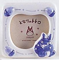 SOLD - Photo Frame & Music Box / Orgel - Ceramics - Totoro & Acorn - out of production (new)