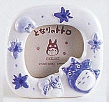 Ghibli - Totoro & Chu & Sho Totoro - Photo Frame & Music Box -Ceramics-outofproduction- SOLD (new)