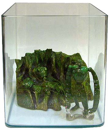 Ghibli - Laputa - Robot - Aqua Plant Tank DX - 2007 - SOLD OUT (new)
