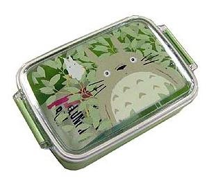 1 left - Lunch Bento Box - microwave - made in Japan - Totoro - 2007 - no production (new)