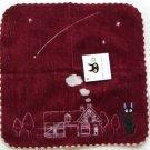 1 left - Mini Towel - Embroidered - crimson - Jiji - Kiki's Delivery Service - no production (new)