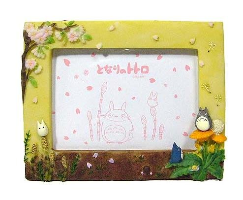 Photo Frame - Stand & Wall Hanging Type - spring - Totoro & Chu & Sho - 2007 - no production (new)