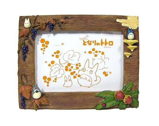 Photo Frame - Stand & Wall Hanging Type - fall - Totoro & Chu & Sho - 2007 - no production (new)