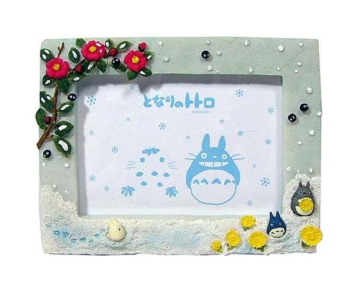 Photo Frame - Stand & Wall Hanging Type - winter - Totoro & Chu & Sho - 2007 - no production (new)
