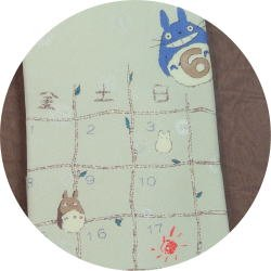 Ghibli - Totoro & Chu & Sho & Kurosuke - Necktie - Silk - father's day - cream - 2007 (new)