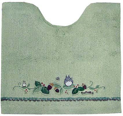 Ghibli - Totoro - Toilet Mat - green - 2007 (new)
