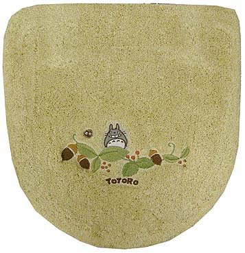 Ghibli - Totoro - Toilet Lid Cover - Toilet Lid Cover - Washlets - beige - 2007 (new)