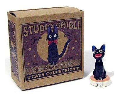Ghibli - Kiki's Delivery Service - Jiji - Doll - Ceramics - Feve - 2007 (new)
