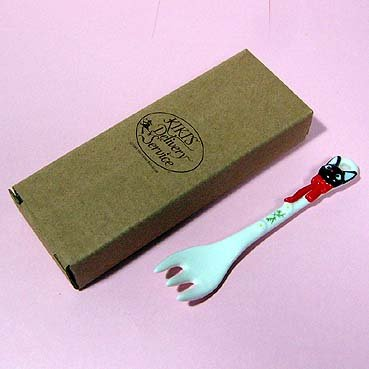 Fork - Ceramics - Jiji - Kiki's Delivery Service - Ghibli - out of production (new)