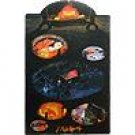 5 left - Pencil Board - Calcifer - Howl's Moving Castle - Ghibli -out of production (new)