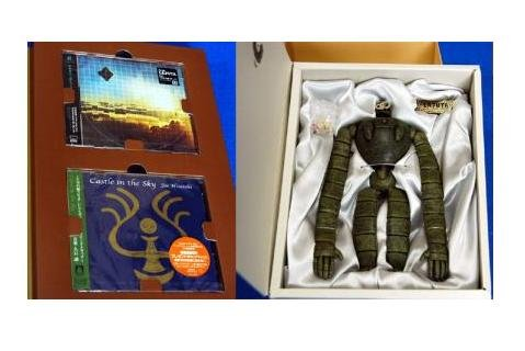 Ghibli - Laputa DVD Collectors Edition - Robot Figure & 2CD & DVD & Book - RARE - SOLD OUT (used)