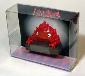 Ghibli - Howl's Moving Castle - Calcifer - Magnet #5 -  44% OFF- out of production- SOLD (new)