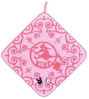 Loop Hand Towel - Jiji & Lily Embroidered - Kiki's Delivery Service - 2008 (new)