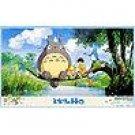 Desk Mat - 86x52cm - fishing - Totoro & Chu & Sho Totoro & Satsuki & Mei - Ghibli - 2008 (new)