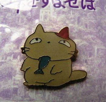 1 left - Pin Badge - Moon - Whisper of the Heart - Ghibli - out of production (new)