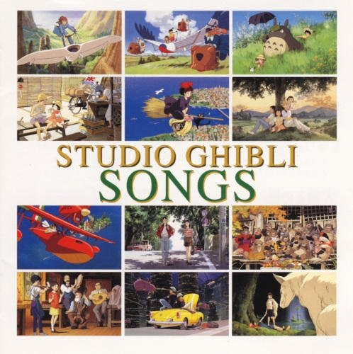 CD - Studio Ghibli Songs - 1998 (new)