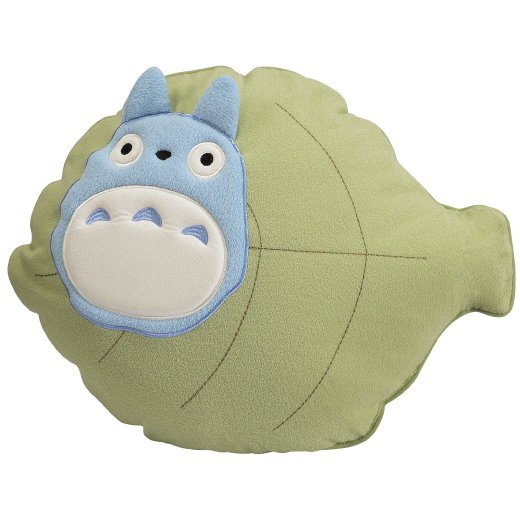 1 left - Cushion - 38x50cm - Leaf - Totoro - Ghibli - 2007 - no production (new)