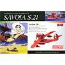 Plastic Model Kit 1/72 - Savoia S.21 Before - Half Done - Porco - Ghibli (new)