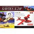 Plastic Model Kit 1/72 - Savoia S.21 After - Half Done - Porco - Ghibli - finemolds (new)