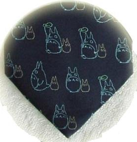 Ghibli - Chu & Sho Totoro - Necktie - Silk - Jacquard - umbrella - navy - 2007 - 2 left (new)
