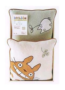 Ghibli - Totoro - 2 Mini Cushion Set - 30x30cm - out of production - VERY RARE (new)