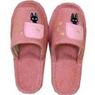 Slipper - Jiji Embroidered - pink - Kiki&#39;s Delivery Service - Ghibli (new)