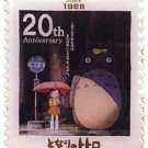 2 left - Pin Badge in Case - Totoro 20th Aniversary - Bus Stop - Totoro - 2008 - no production (new)