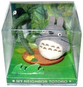 Ghibli - Totoro & Kurosuke - Mascot - Pin - out of production - VERY RARE - SOLD (new)