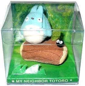 Ghibli - Chu Totoro & Kurosuke - Mascot - Pin Brooch - out of production - VERY RARE (new)