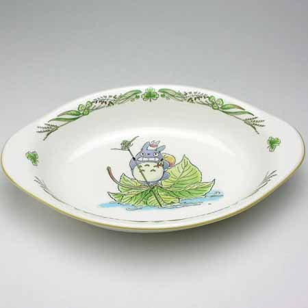 Oval Deap Plate - Bone China - Noritake - Totoro - Ghibli (new)