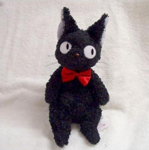 Plush Doll - Jiji (M) - Fluffy - Kiki's Delivery Service - Ghibli - 2008 (new)